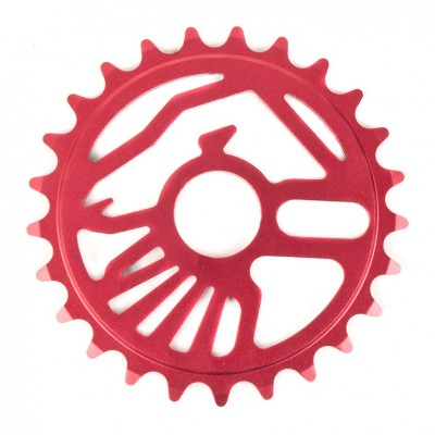 TSC_CrowSprocket_25T_CrimsonRed